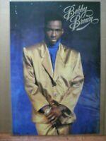 Bobby Brown Rapper Vintage Hip hop R & B poster 1990's original 13633