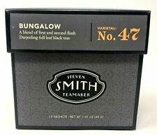 Steven Smith British Bungalow Blend No. 47 Full Leaf Black 15 Tea Bags Sachets