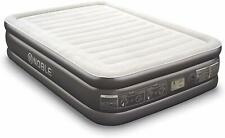 Noble Queen Size Comfort Double High Raised Air Mattress Top Inflatable Air