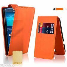 Cover e custodie Arancione Per Samsung Galaxy S4 in pelle sintetica per cellulari e palmari