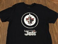 Winnipeg Jets Medium T Shirt NHL Hockey Retro Sport