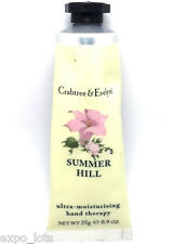 Crabtree & Evelyn SUMMER HILL Ultra Moisturizing Hand Therapy 0.9 oz