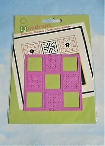 Marianne Design Quadrant Template Embossing embroidery NEW