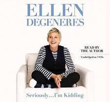 Seriously I'm Kidding, DeGeneres, Ellen | Hardcover Book | Good | 9780446585026
