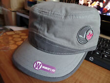 Adidas Originals Women's Sparrow Military Cap Hat Castro Graphite Pink Lid Gray