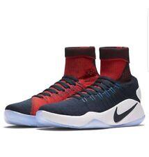 NEW Sz 16 Nike Hyperdunk USA Away 843390 446 Obsidian Navy Crimson Red White
