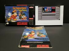 Magical Quest starring Mickey Mouse (Super Nintendo) SNES Complete Boxed