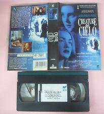 VHS film CREATURE DEL CIELO 1996 Peter Jackson Lynskey Kate Winslet (F164)no*dvd