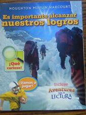 Houghton Mifflin Harcourt Senderos Reading Adventure Spanish 3rd Grade Level 3