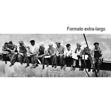 Ebbets, Obreros de la construcción Almorzando, Lienzo Bastidor Extra-Largo