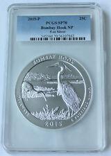 2015-P Bombay Hook Pcgs Sp70 5 oz Atb America the Beautiful silver