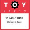 11248-51010 Toyota Silencer, v-bank 1124851010, New Genuine OEM Part