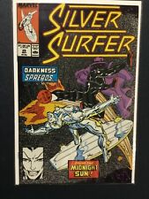"SILVER SURFER (1987 2nd Series) #29 NM- 9.2 KREE/SKRULL WAR. ""OUR COMPLEX!"""