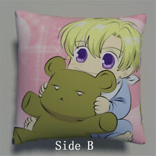 Ouran High School Host Club Anime two sides Pillow Cushion Case Cover 568 A