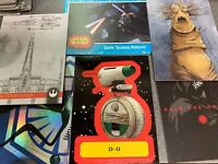 TOPPS STAR WARS JOURNEY TO RISE OF SKYWALKER COMPLETE 168 CARD MINI-MASTER SET