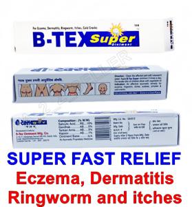 12g B-tex super Anti-fungal Pimple jock itch ringworm Athletes Foot skin cream