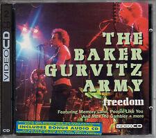 BAKER GURVITZ ARMY freedom CD+VIDEO CD live 1975 Ginger Baker Gun RARE