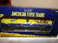 AMERICAN FLYER S GAUGE MINT  6-48537 NESTLE NESQUIK WITH MILK CONTAINERS