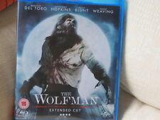 The Wolfman (2010) - Extended Cut   Blu-ray Benicio Del Toro, Anthony Hopkins