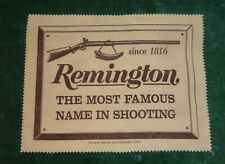 Vintage Unused Nos Remington Gun Silicone Treated Polishing Cloth New Old Stock