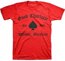 Good Charlotte - Gc Recreate Spade Adult T-Shirt - Pop punk alternative rock Mu