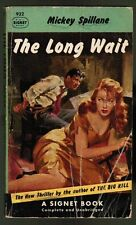 Mickey Spillane: THE LONG WAIT (6th PRINTING from`53 movie tie-in paperback book