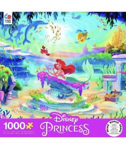 New Seal Ceaco Disney Princess The Little Mermaid Ariel 1000 Piece Jigsaw Puzzle