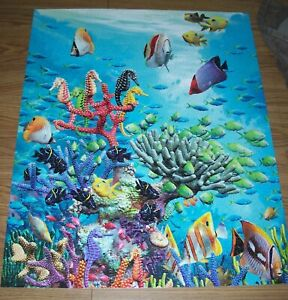 Water World – White Mountain Puzzle – Pre-Owned