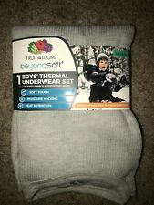 Fruit Of The Loom Boys Thermal Underwear Set - Beyond Soft - Size L/G [10-12]