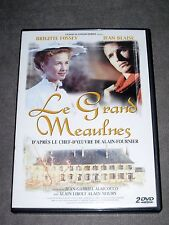 DOUBLE DVD - LE GRAND MEAULNES / LA FILLE AUX YEUX D'OR