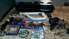 Sony VR Headset w/ PS4 VR Games & Controllers