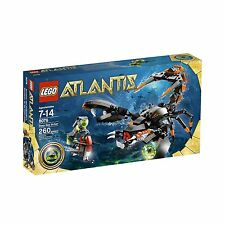 8076 DEEP SEA STRIKER lego legos set NEW atlantis retired