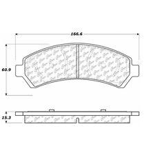 105.07260 - Centric Posi-Quiet Ceramic Disc Brake Pad Set W/HDW Free Shipping!