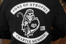 Sons of Anarchy - oops Atrophy - Long-Sleeve T-shirt - 3X