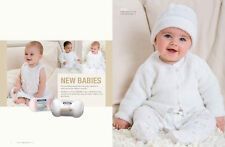 Patons Pattern Book #1311 Babies for 3-24 Months to Knit in 8 Ply 7 Designs