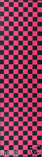 Brand New Skateboard Grip Tape Checker Pink 9'' x 33''