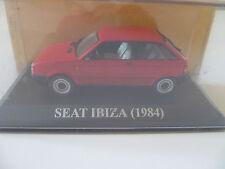 SEAT IBIZA ROUGE de 1984 ~  NEUF