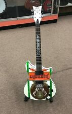 CUSTOM SCHECTER TEMPEST JAGERMEISTER GUITAR: Lightly Used Great Shape