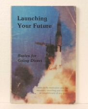 """1982 AMWAY book """"Launching Your Future"""" - good condition - Free US Shipping"""