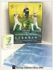 2007-08 Cricket Trading Cards Base Set (120)+ Official Album + 14 Pages