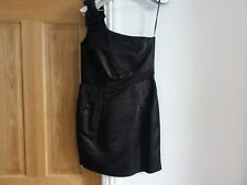 French Connection One Shoulder Dress, Black in Size 12