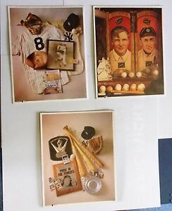 3 Henry Groskinsky Baseball Prints, 1993: The Perfect Game, Christy and Ty...