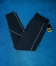 MENS BLUE EVERLAST RUNNING TIGHTS LEGGINGS COMPRESSION PANTS SIZE XLARGE NWT