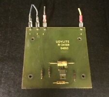 Udylite R34189 Control Board taken from a working rectifier R-34189 04093