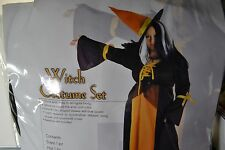 Adult  WITCH Costume with Hat    Size 2X