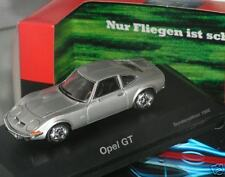 RARE SCHUCO OPEL GT 1969 METALLIC SILVER 1:43 NEW BOXED DEALER PROMO  1 OF 500