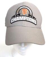 New San Francisco Giants Hat World Series 2004 Champions Nike Baseball Cap Flags