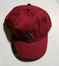 Adidas Climalite Adjustable Relaxed Fit Hat - Burgundy
