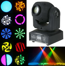 Lixada 60W RGBW Moving Head Stage Lighting 8Color 8Gobos DMX Beam DJ Party Light