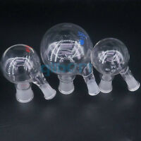100-2000ml Multiple Joint 2-neck Round Bottom Lab Glass Boiling Flask Ware